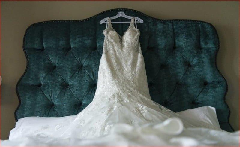 Wedding Dress Before FaCitrus Club Wedding