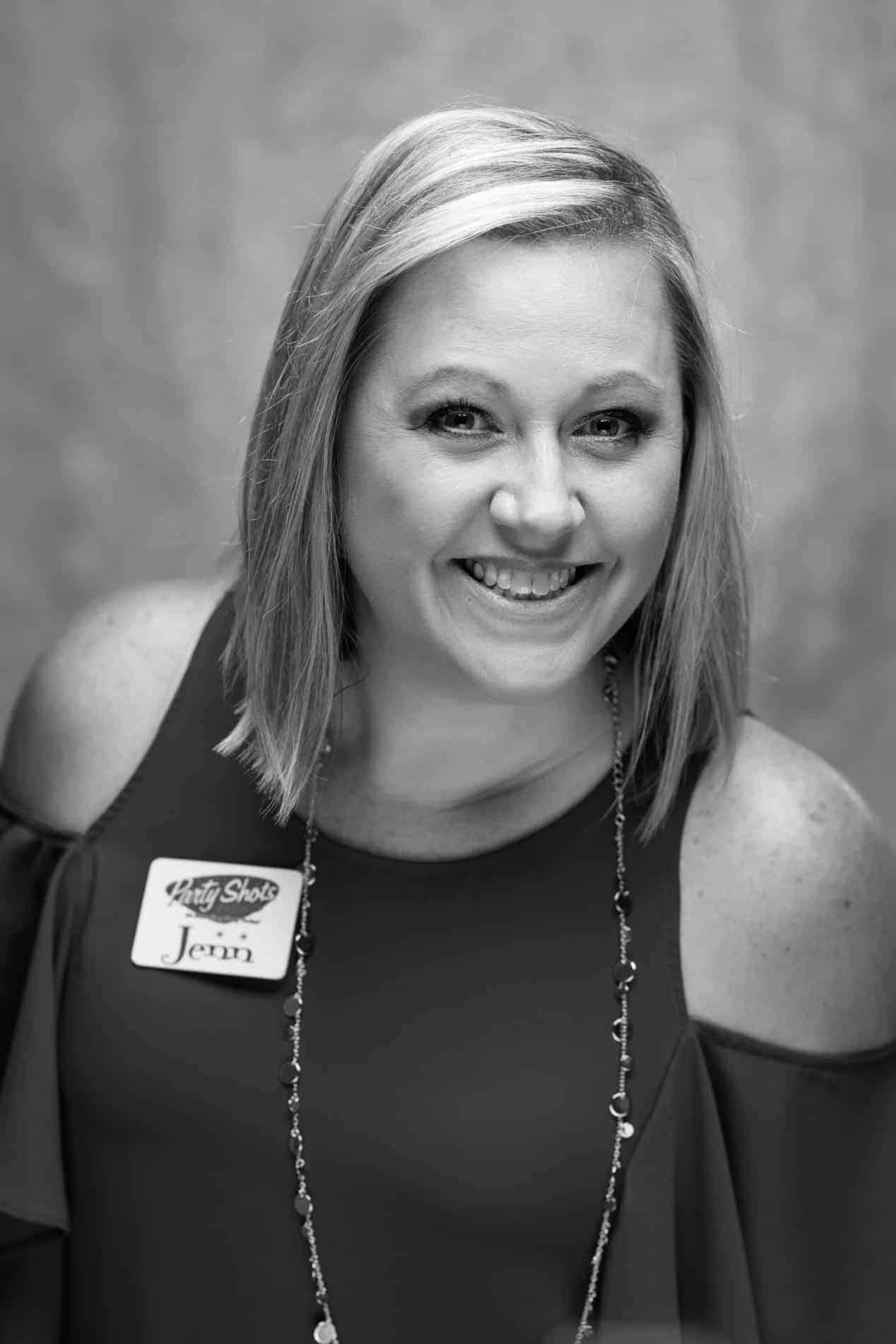 Jen Warrington of Party Shots Orlando