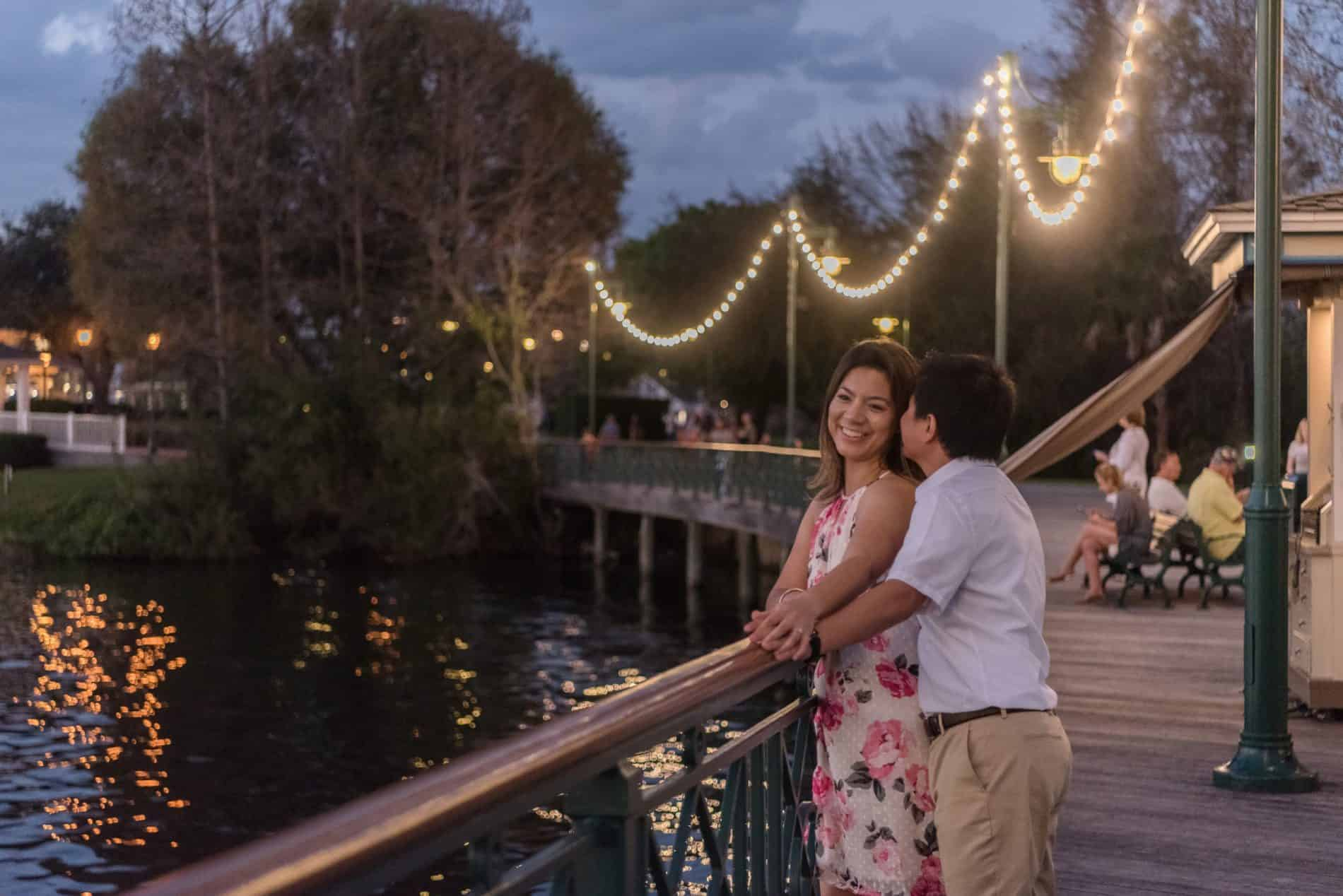 Young couple happy that they did well in Choosing a Wedding Photographer