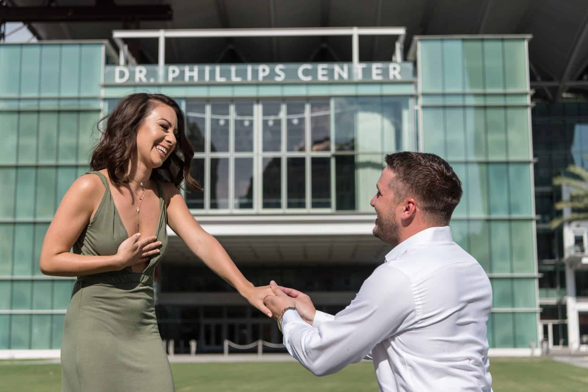 Surprise Proposal at Dr Phillips Center for the Arts