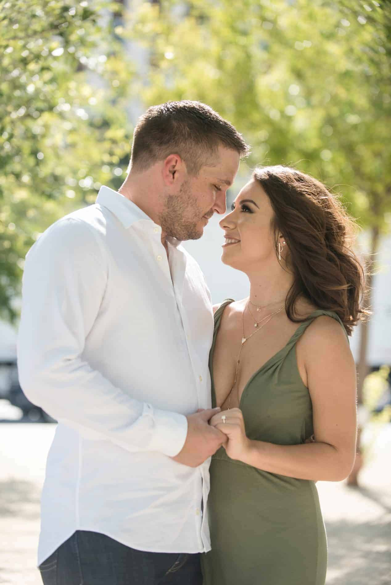 Airy style of Engagement Photos