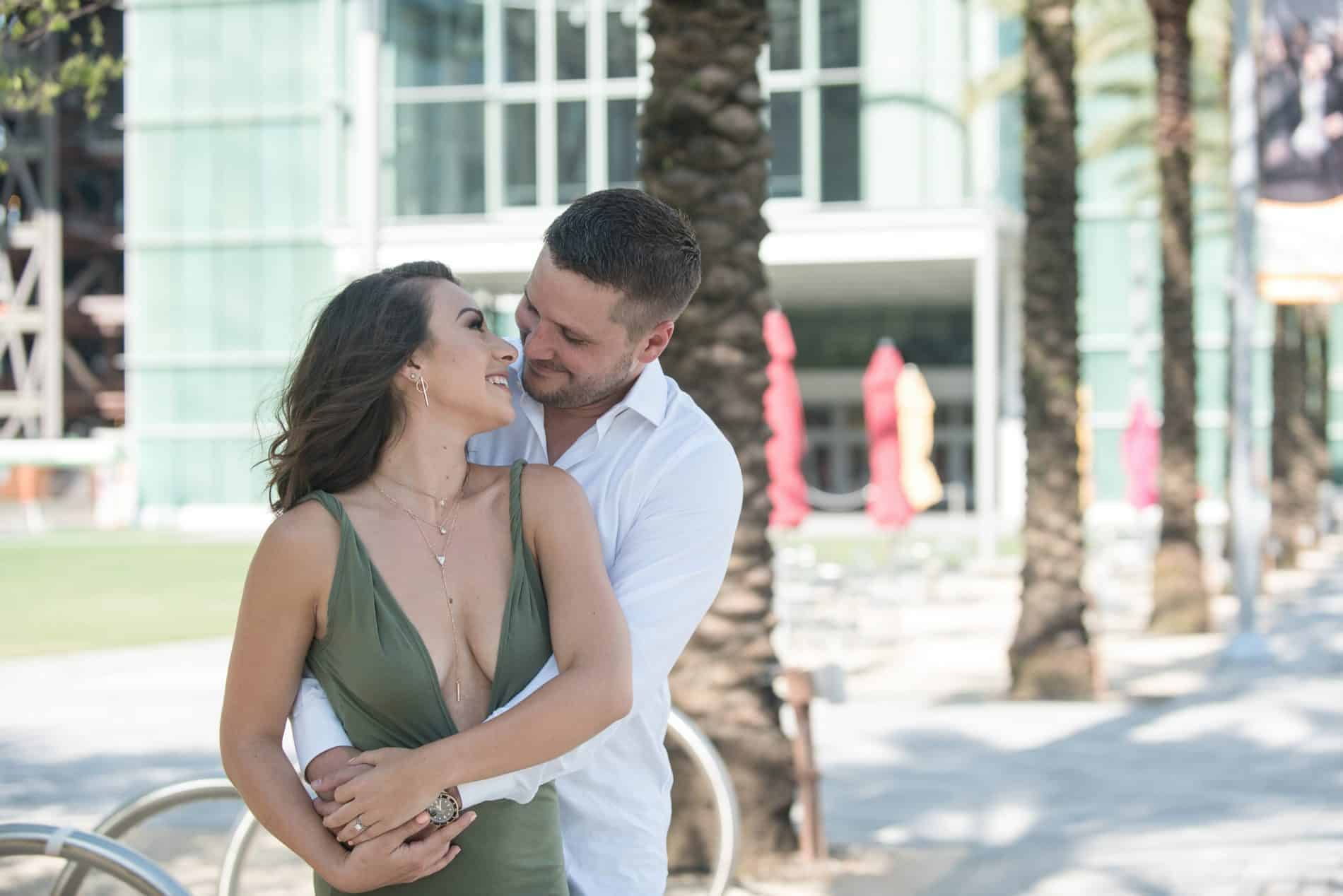Engagement Photos in Downtown Orlando
