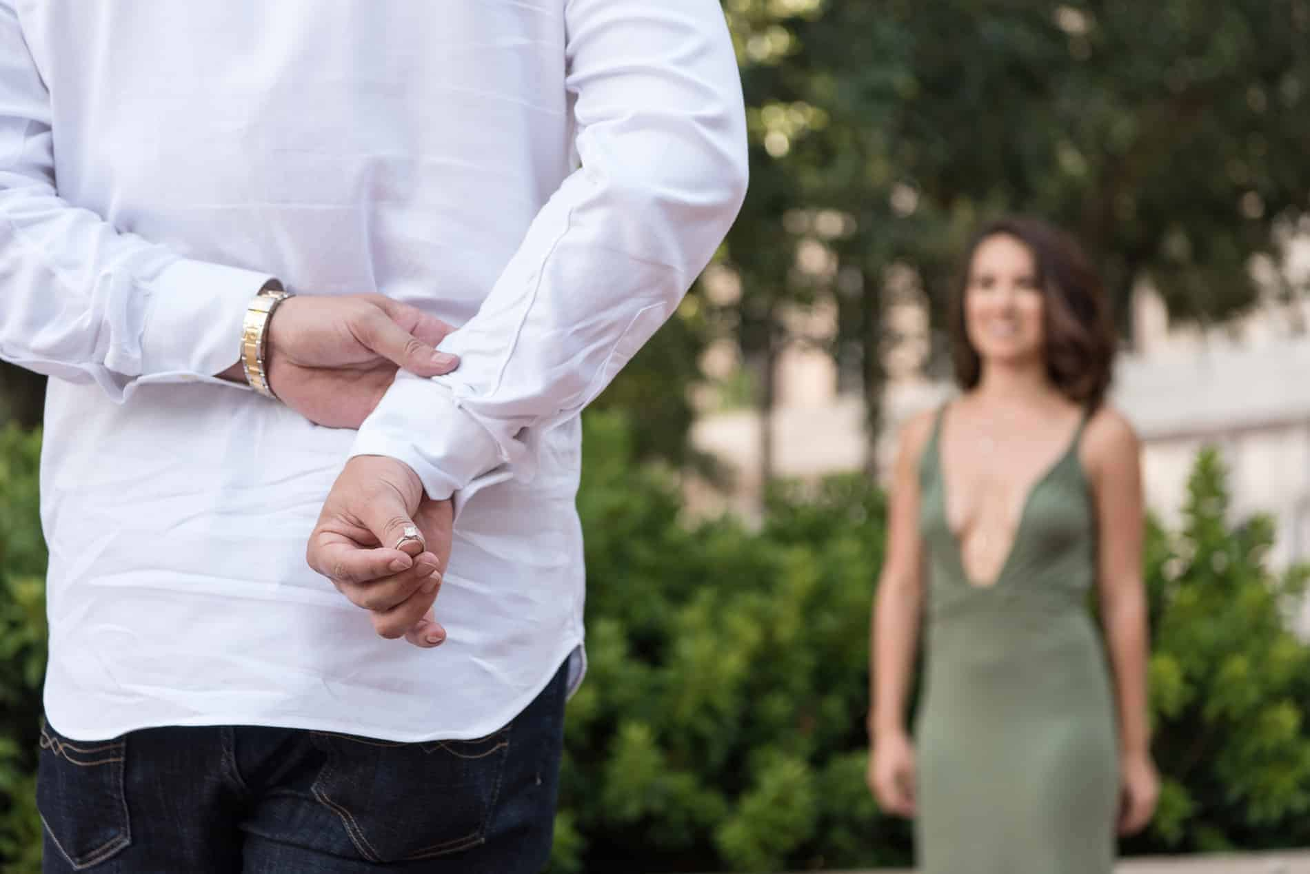 The ring is hidden in this downtown Orlando Proposal
