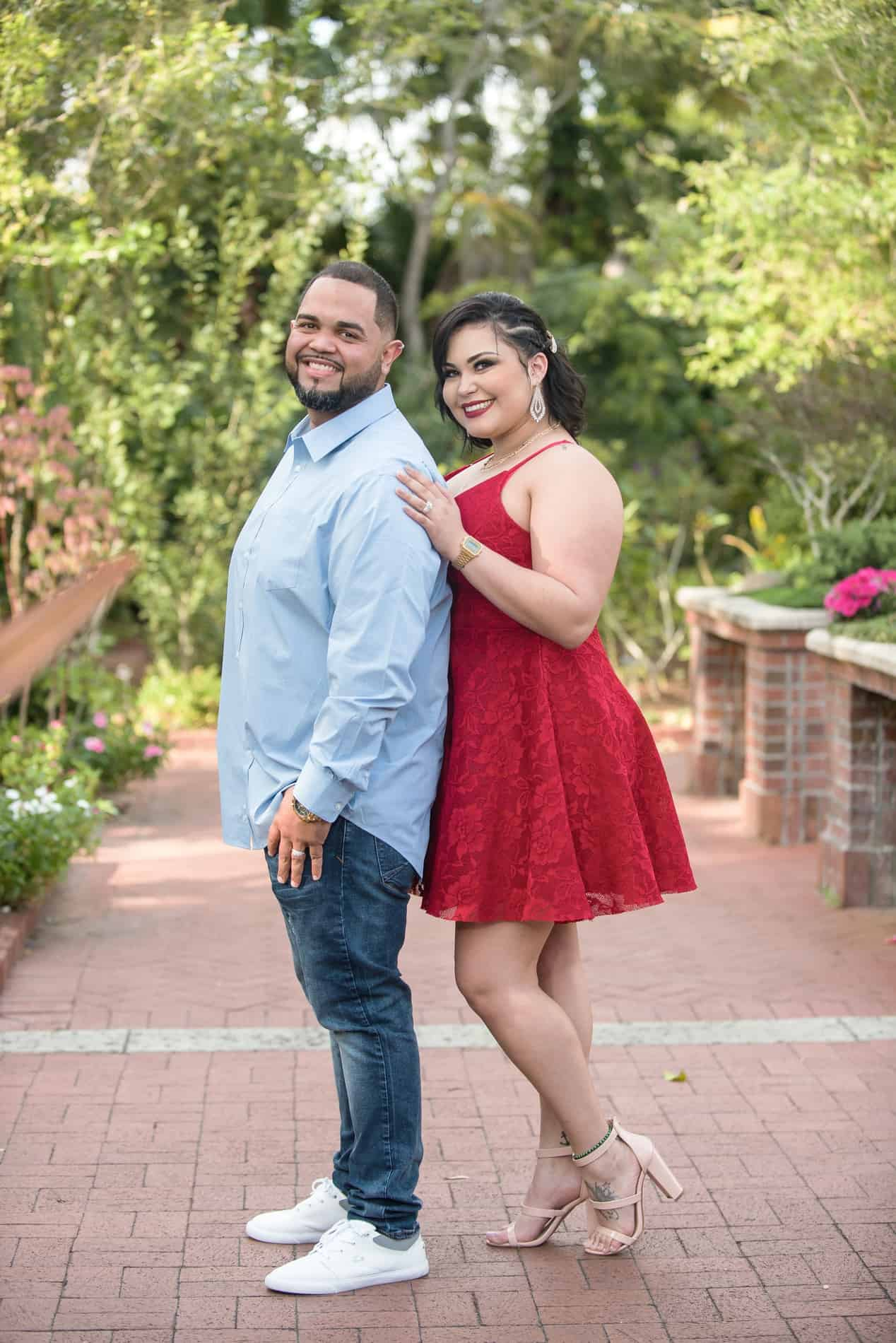 Best Photographers for Leu Gardens Engagement Photos