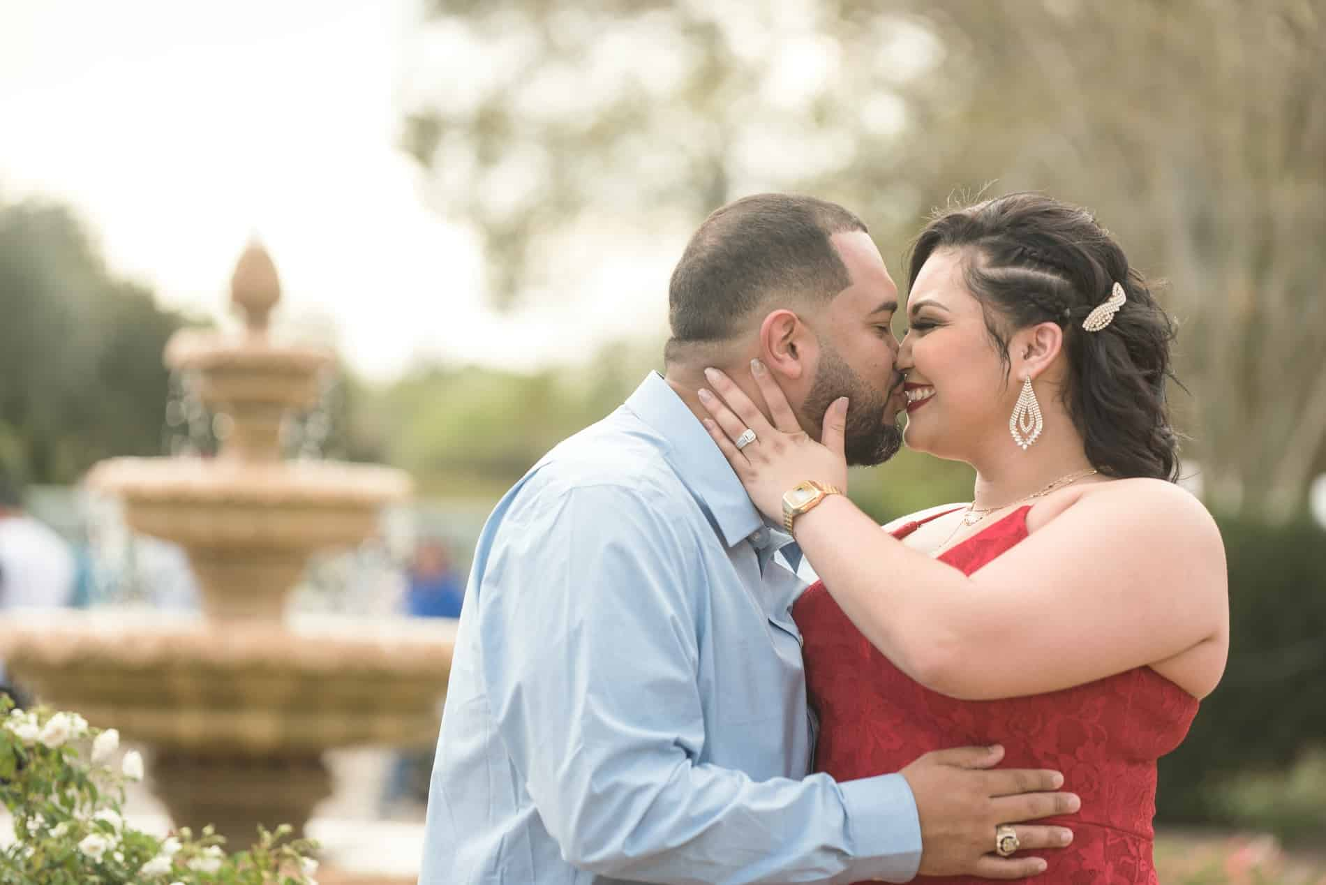 Leu Gardens Engagement Photos