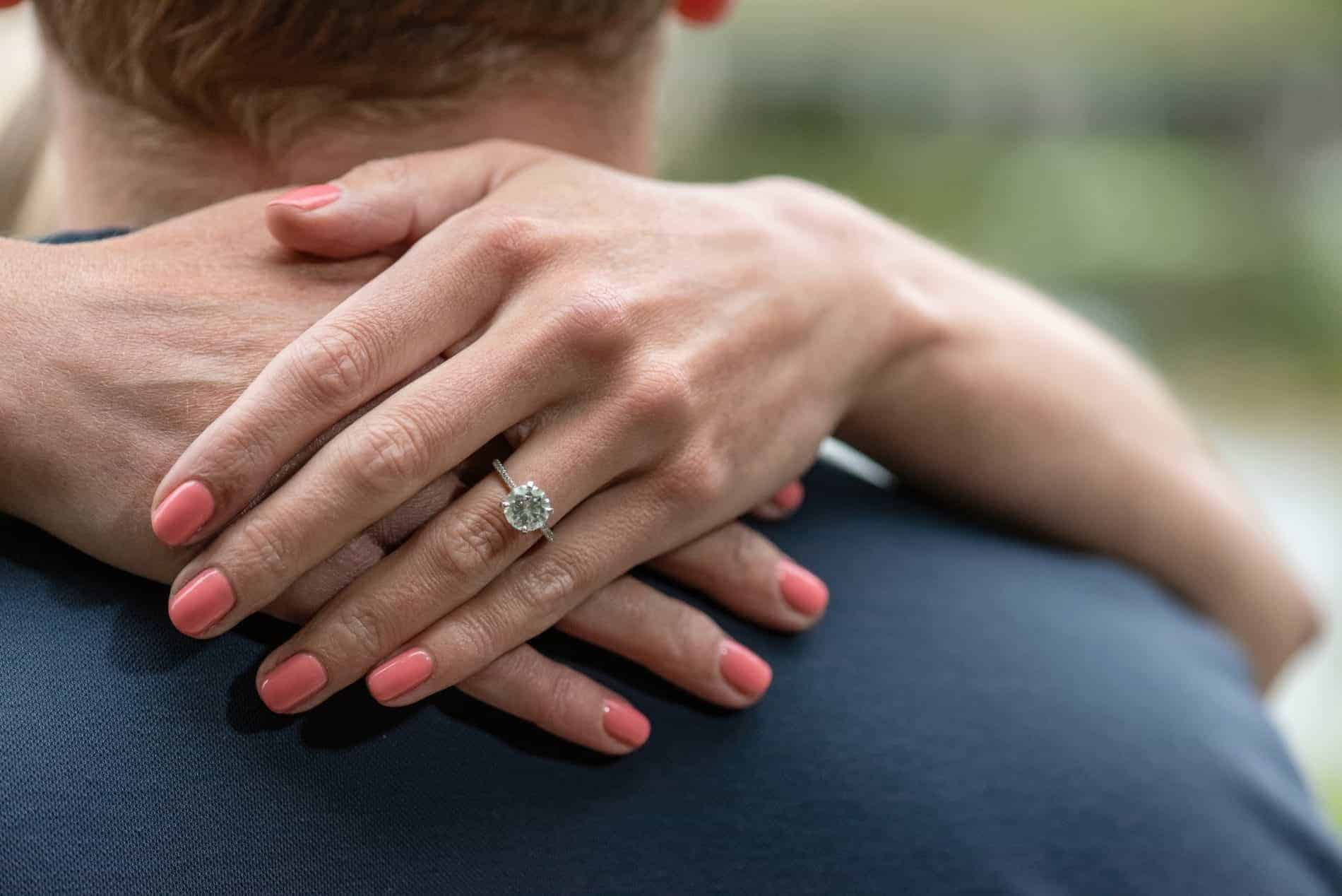 Beautiful Engagement Ring Photo in Florida