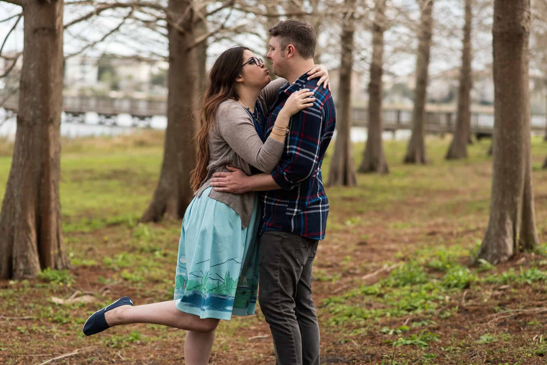 Bill Frederick Park hosts a Star Wars Engagement Session