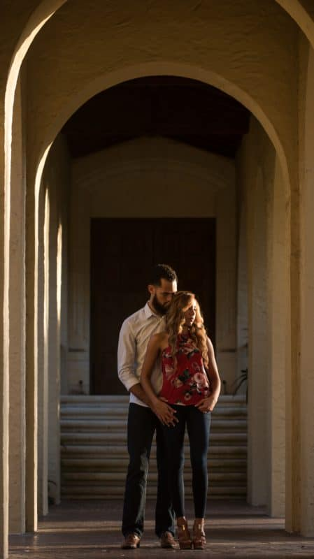 Wondrous College Engagement Photos