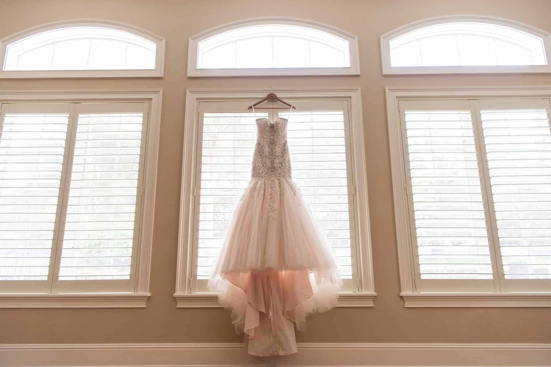 Beautiful Wedding Dress waiting for the bride