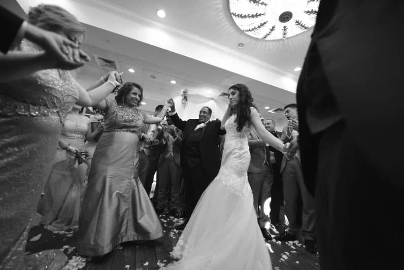 Bride Dancing with her mother at her East Coast Florida Wedding