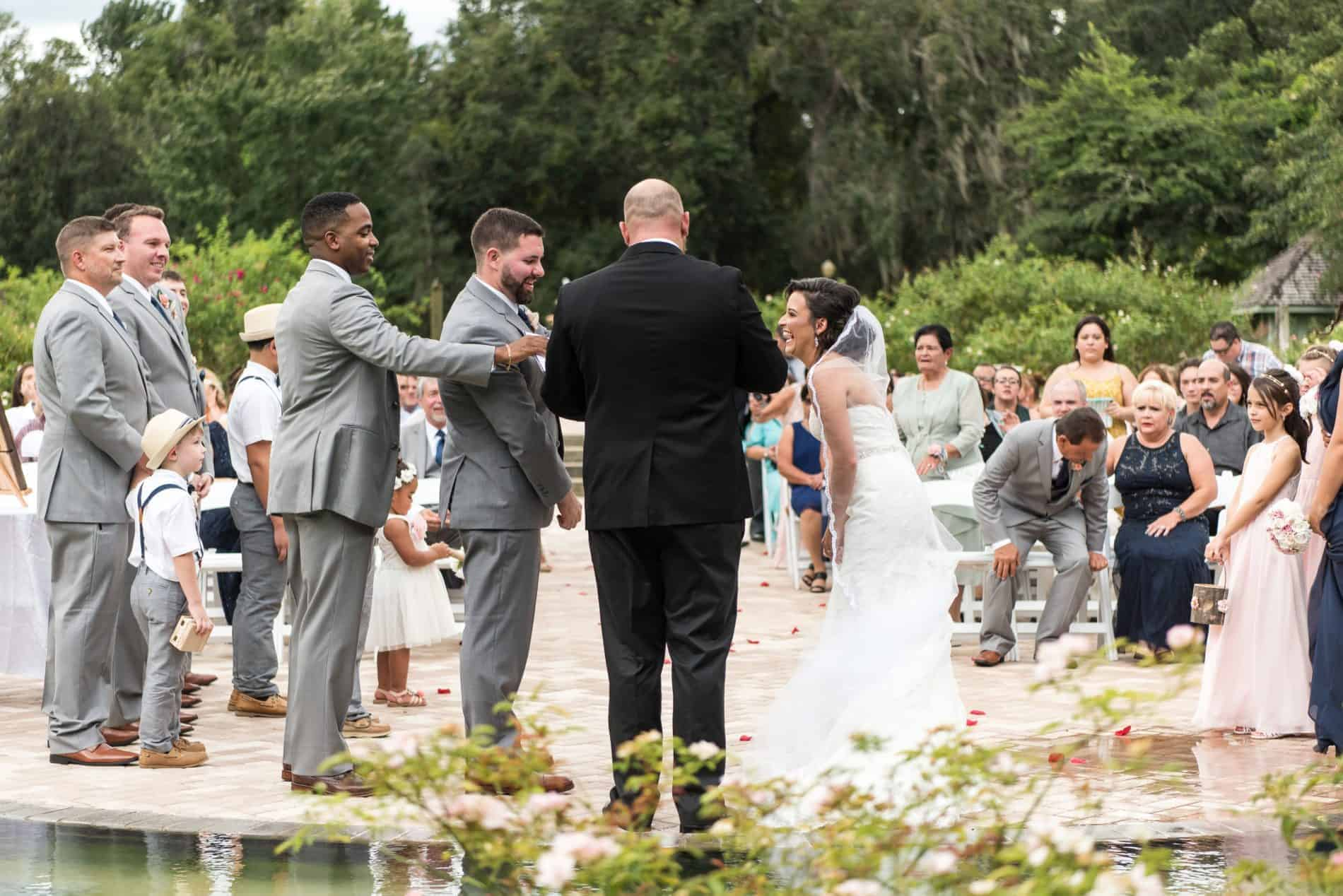 Having your Wedding outdoors