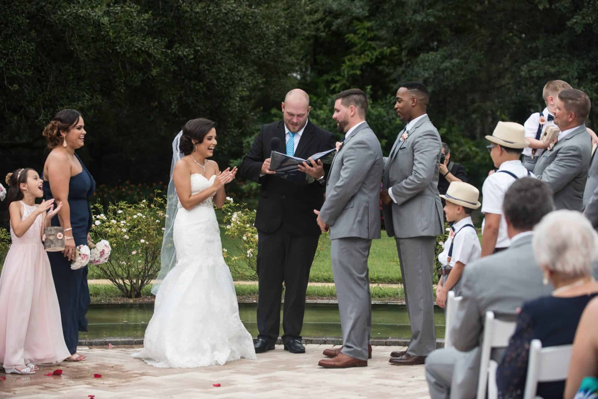 Having your Wedding outdoors
