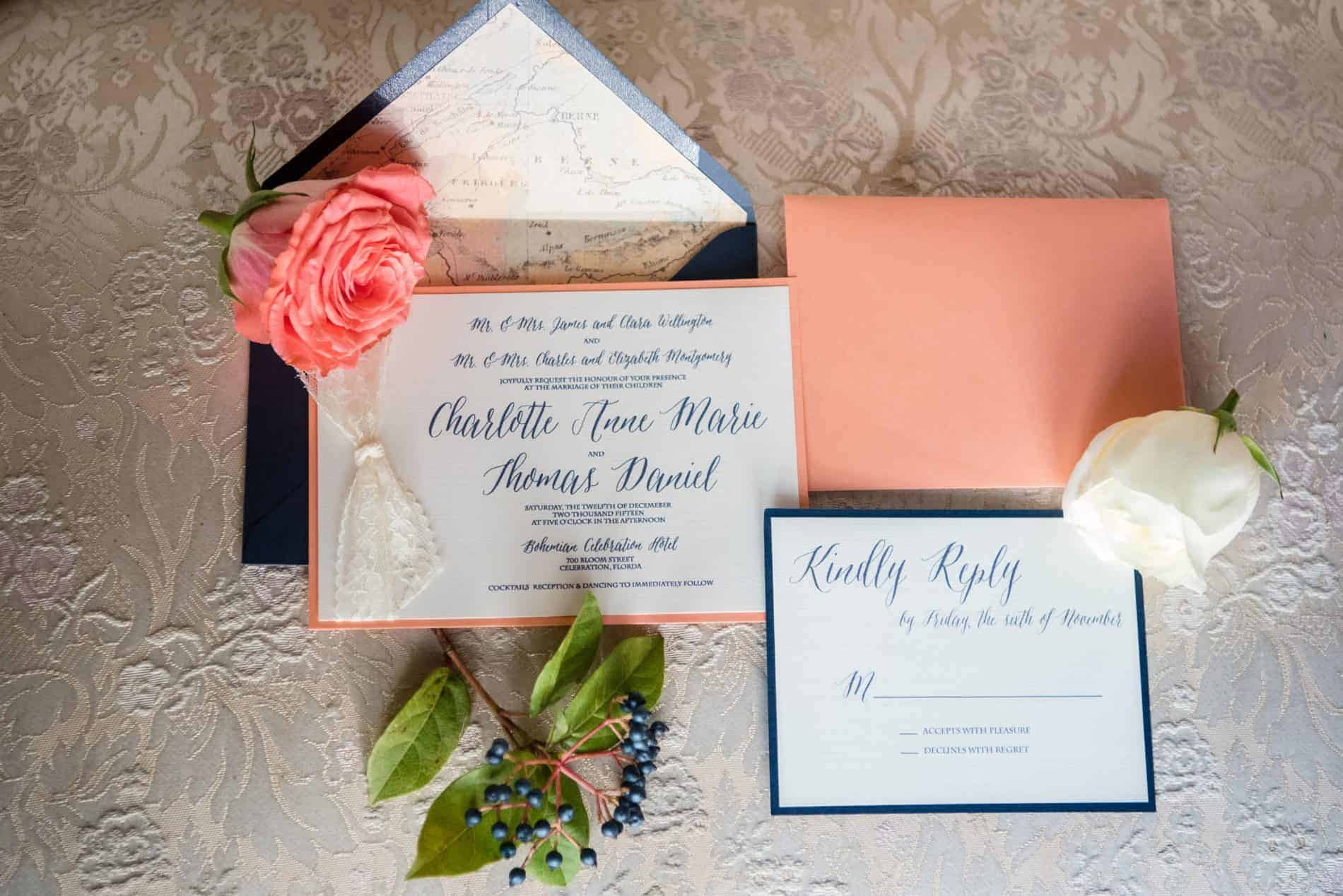 Custom Stationary was provided by Megan & Cedar Watson. They are the Owners Paper Goat Post.