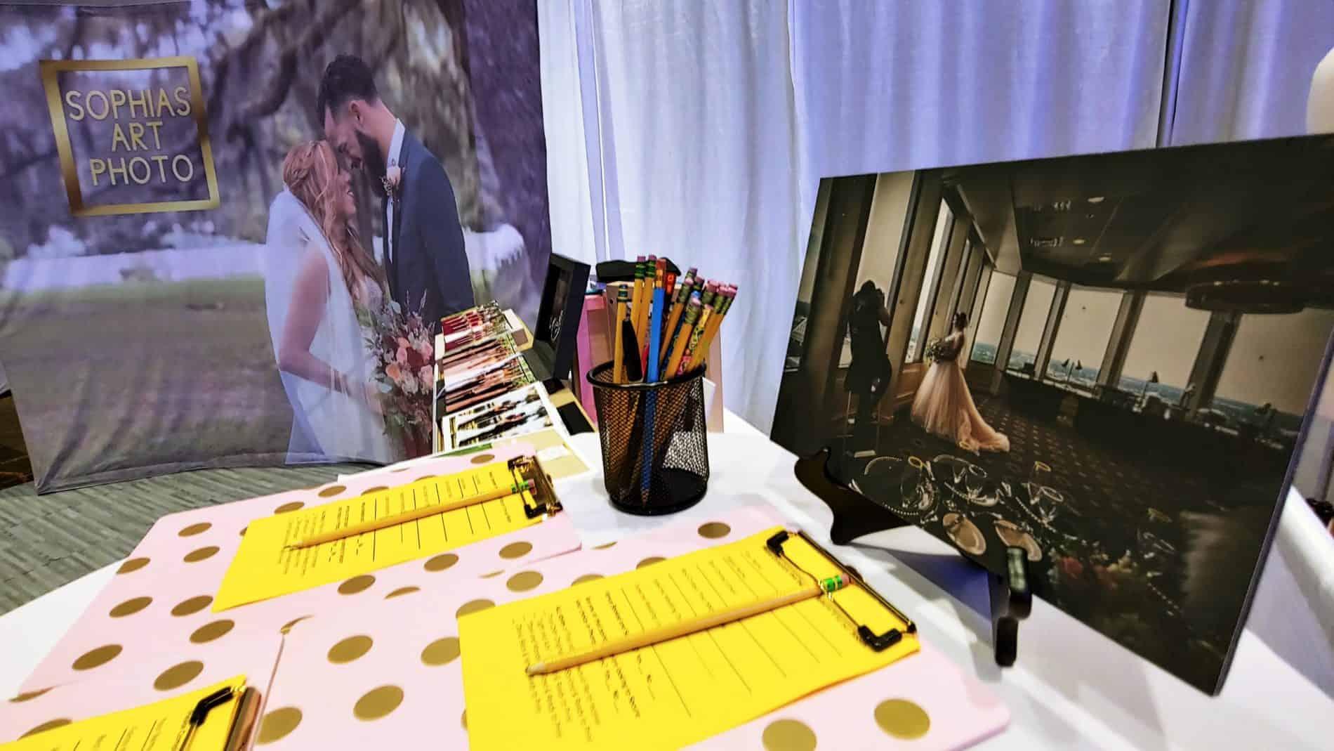 Florida Wedding Expos Booth