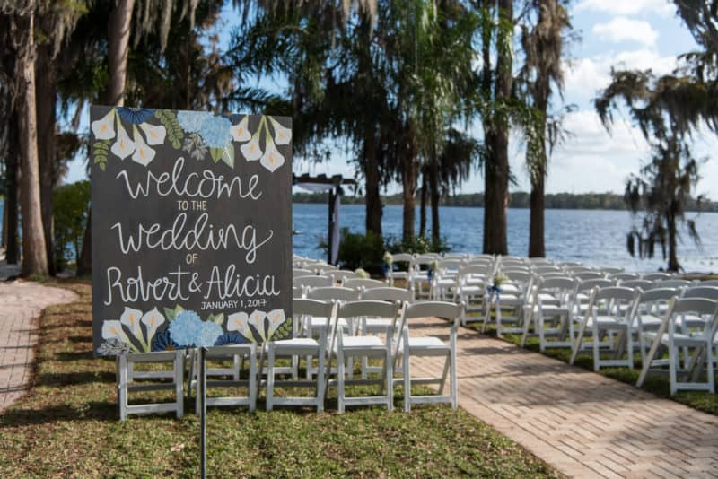Paradise Cove Outdoor Wedding Venues in Orlando