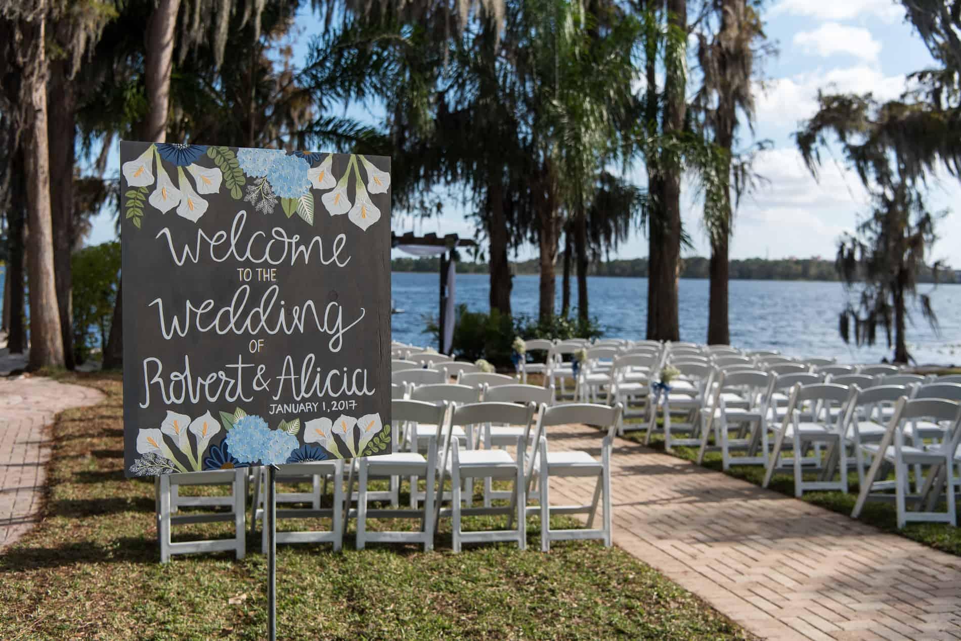 Paradise Cove Outdoor Wedding Venues in Orlando