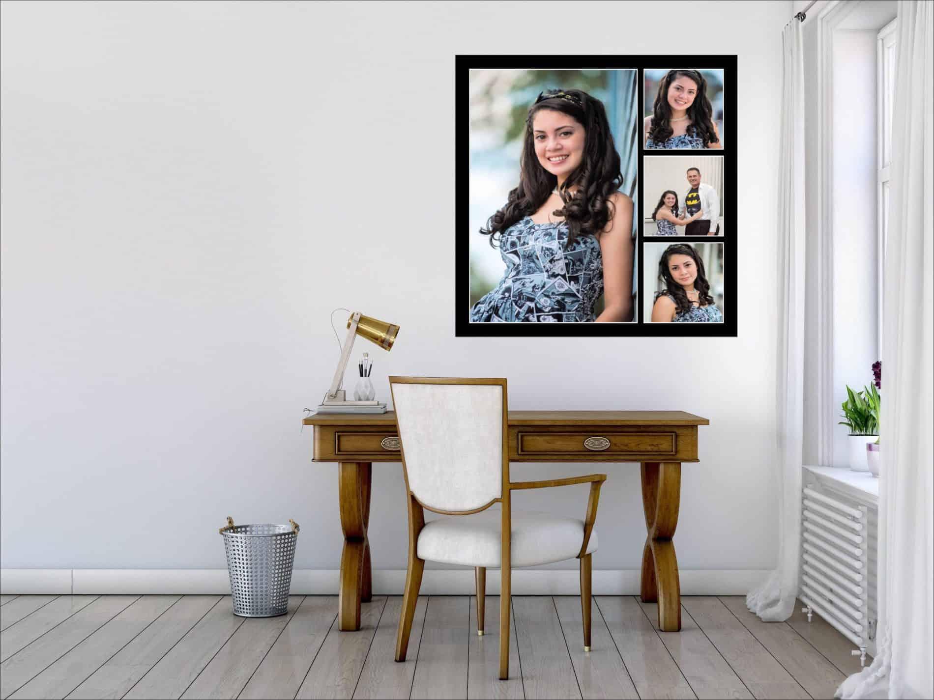 Graduation Photos on a Wall