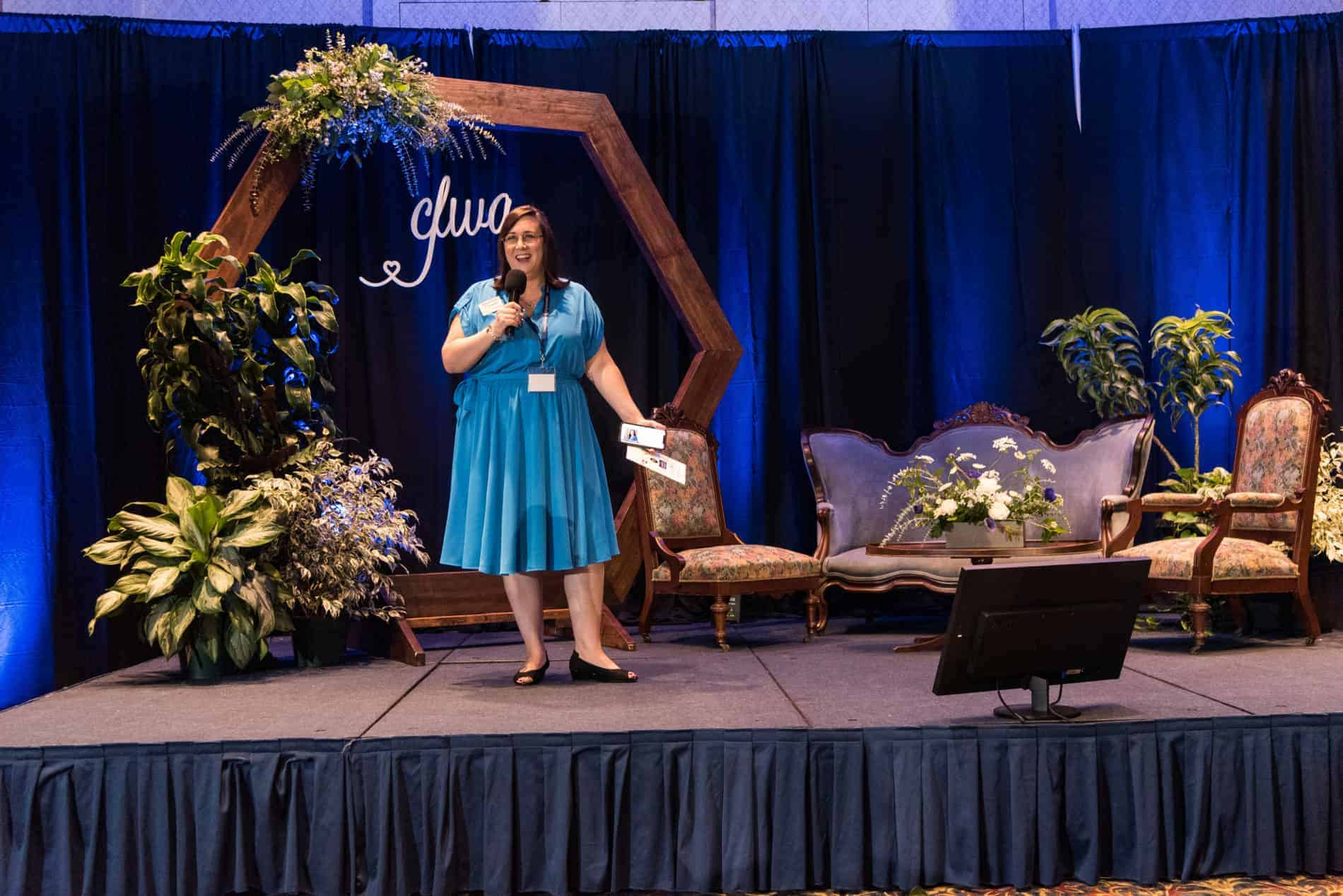 Shannon Tarrant Wedding Venue Map Speaking at Conference