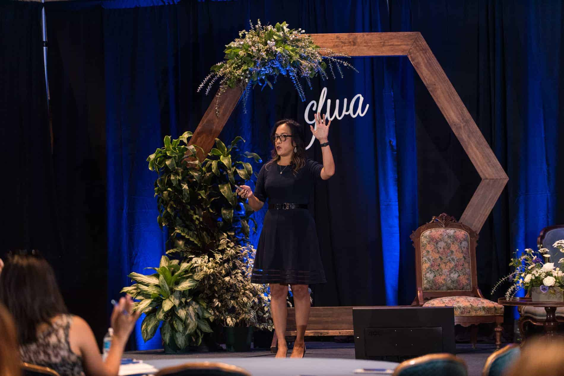 Vice President Marketing The Knot Bernadette Baillie Speaking at CFWA The Summit Conference