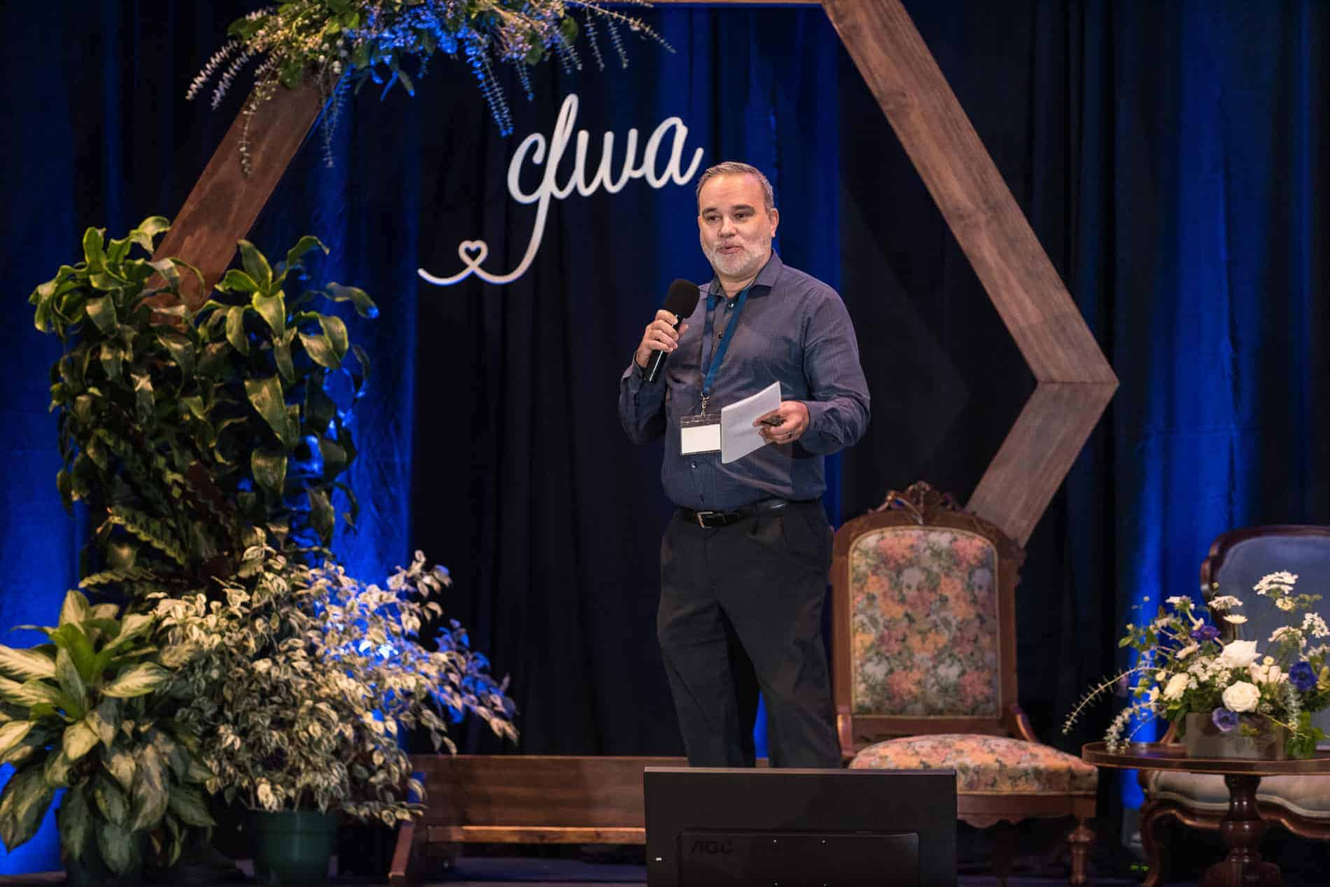 Agent of Change CEO Paul Castaneda Speaks at CFWA The Summit Conference.