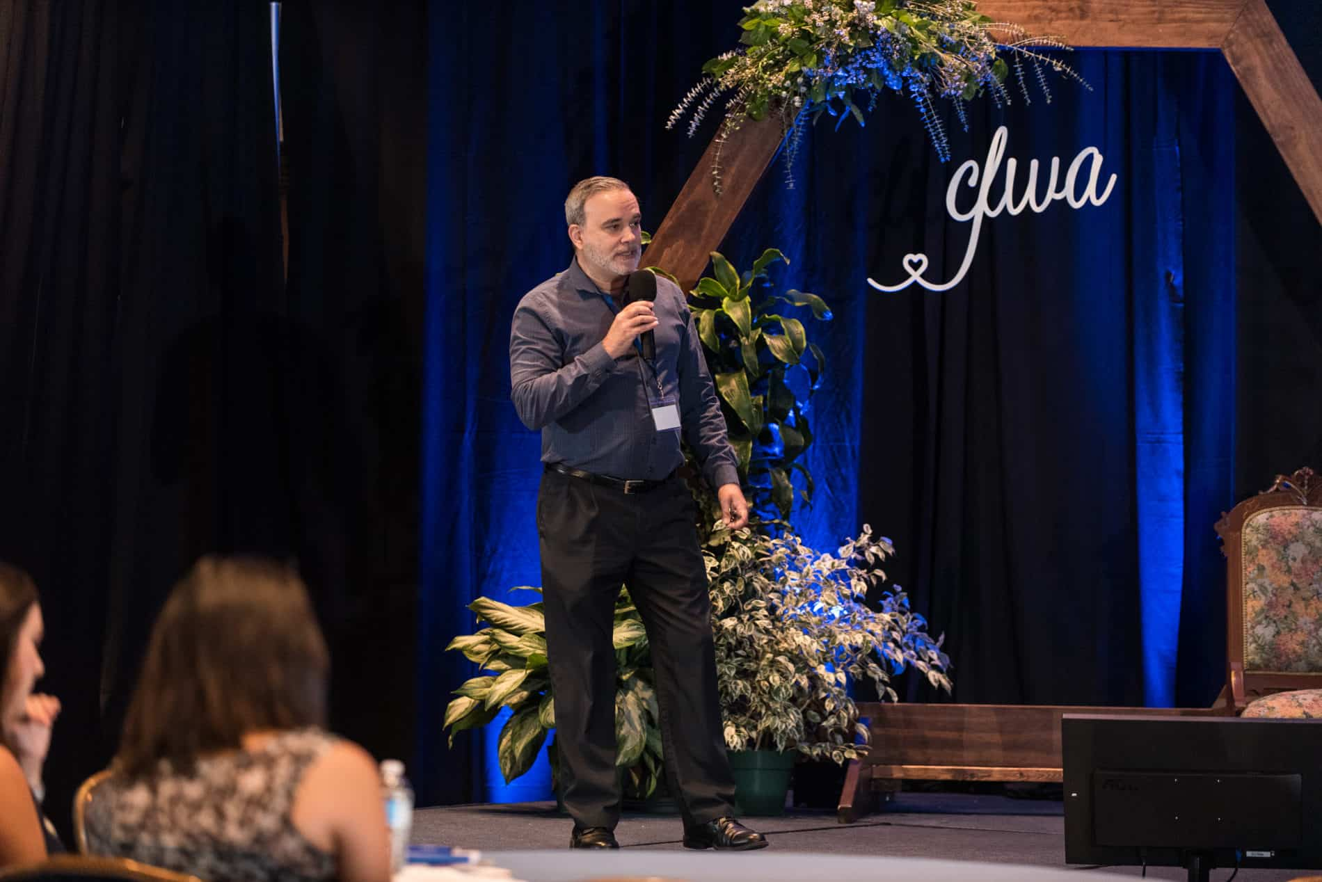 Paul Castaneda Agent of Change CEO Speaks at CFWA The Summit Conference.