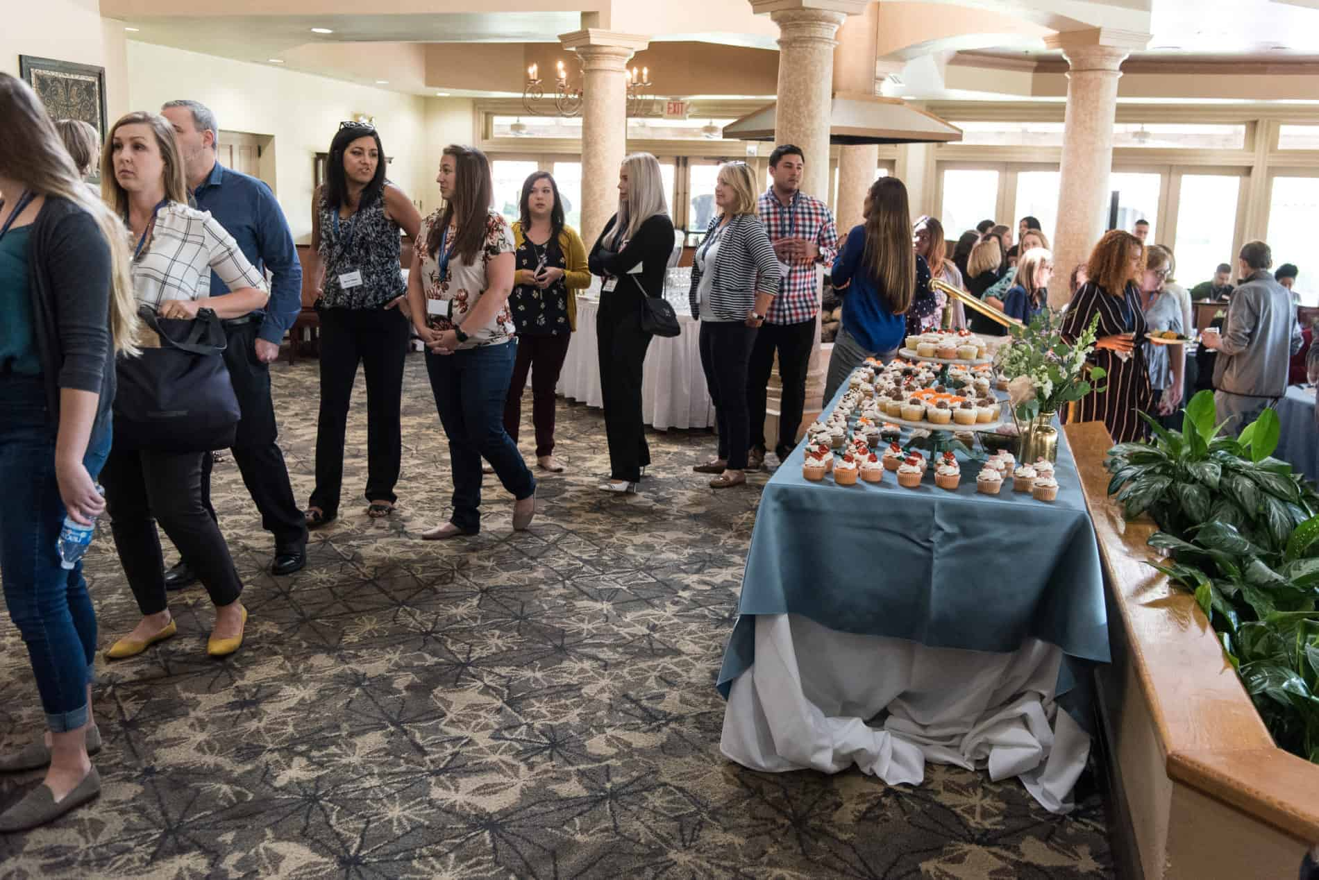 They had amazing food at The Wedding Education Conference Lunch.