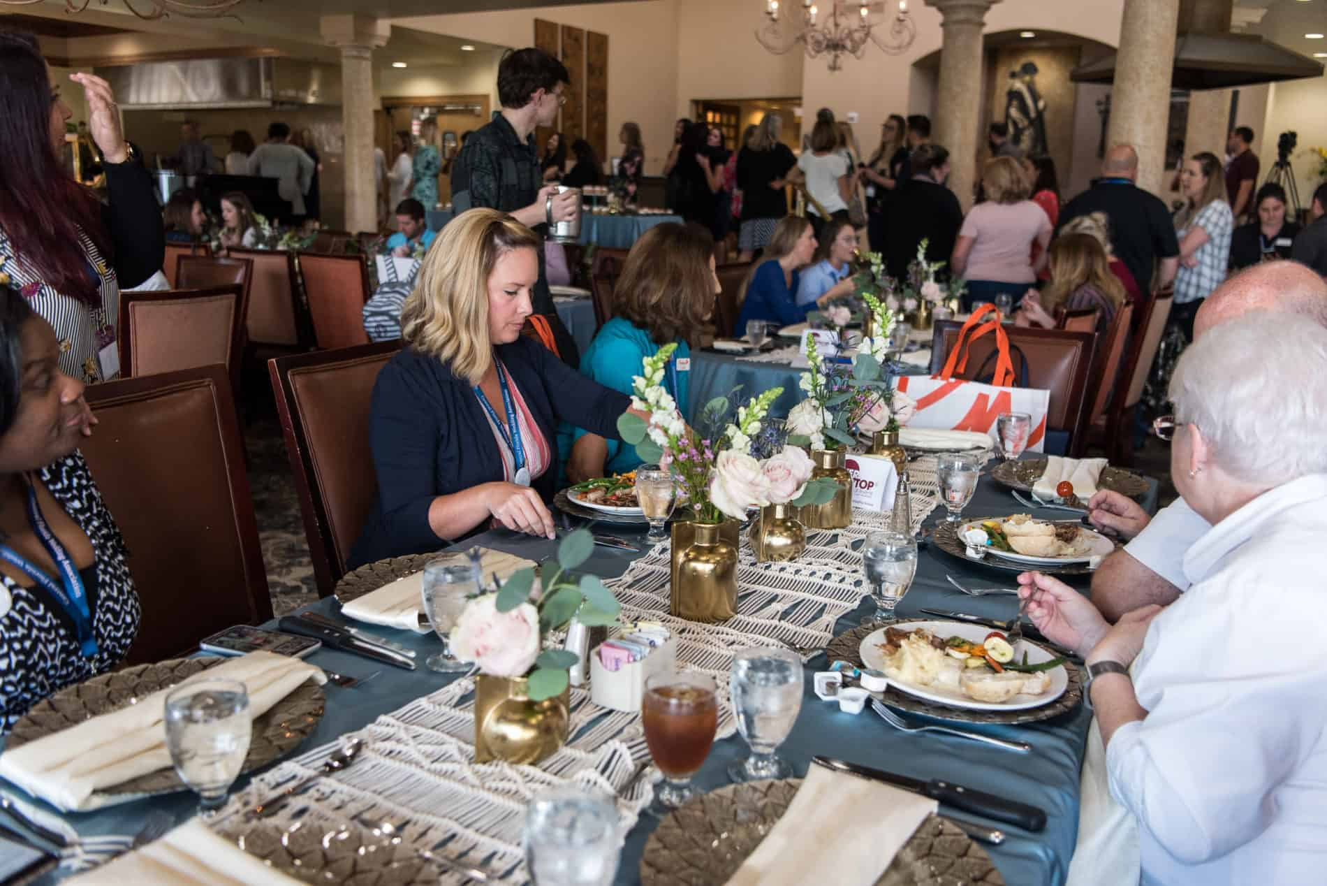CFWA Summit Lunch Buffet was beautiful.