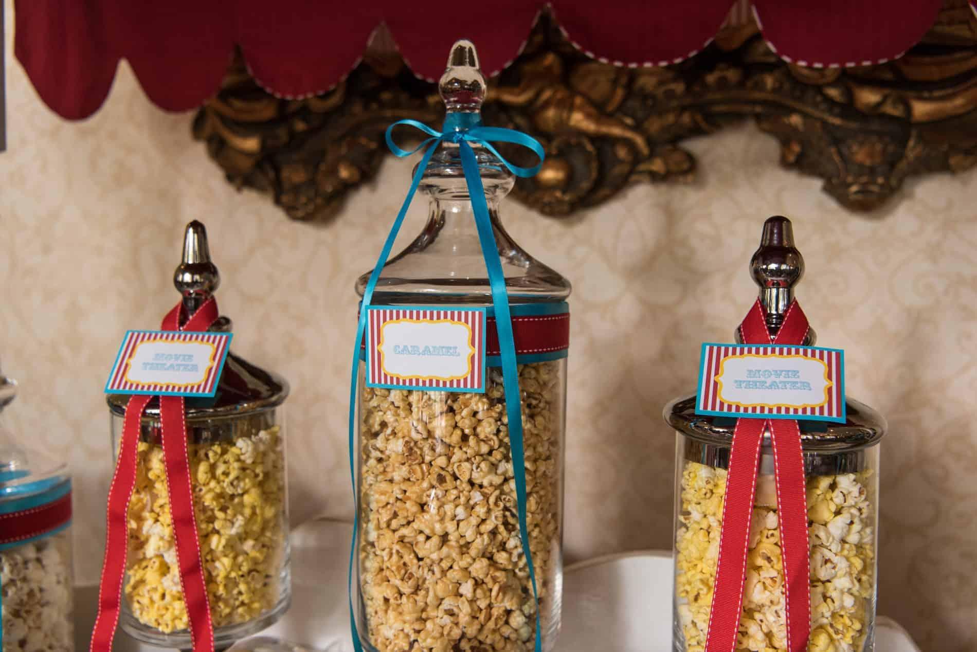 Popcorn Bar at CFWA Wedding Education Conference The Summit