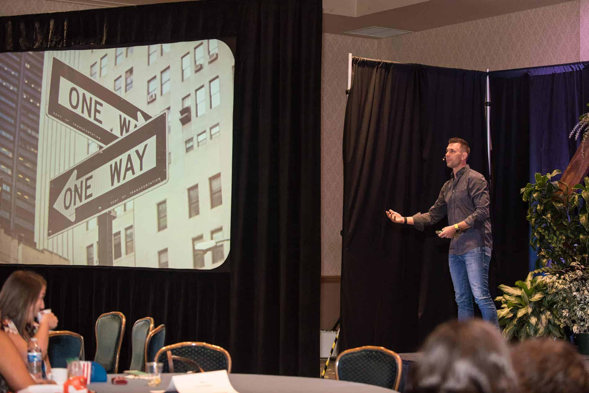 Ambitious Adventures CEO Greg Rollett Speaking at CFWA The Summit Conference