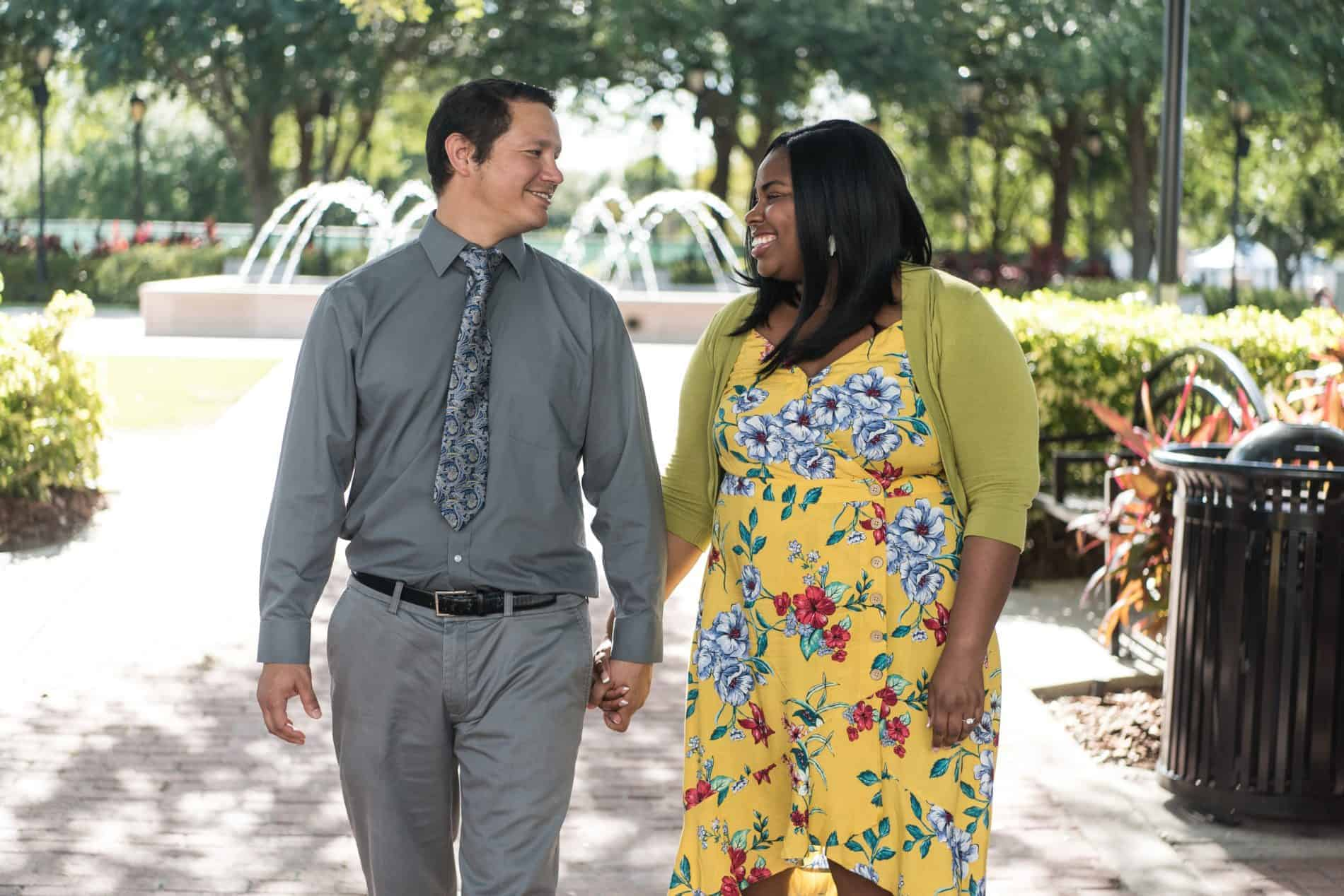Cranes Roost Engagement Photos