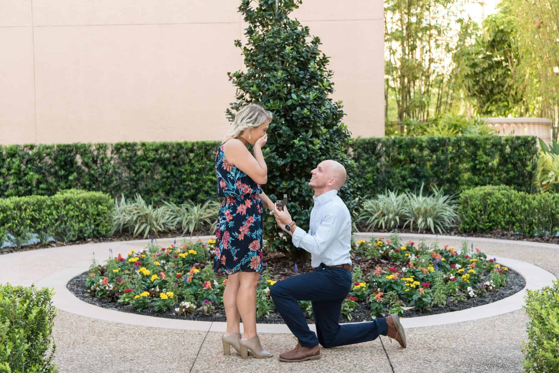 Katelyn and Bryce Ritz Grande Lakes Proposal is a Surprise