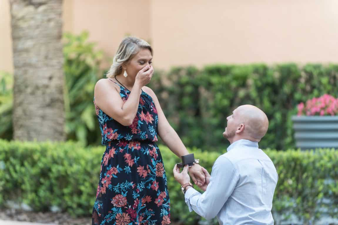 Ritz Grande Lakes Surprise Proposal