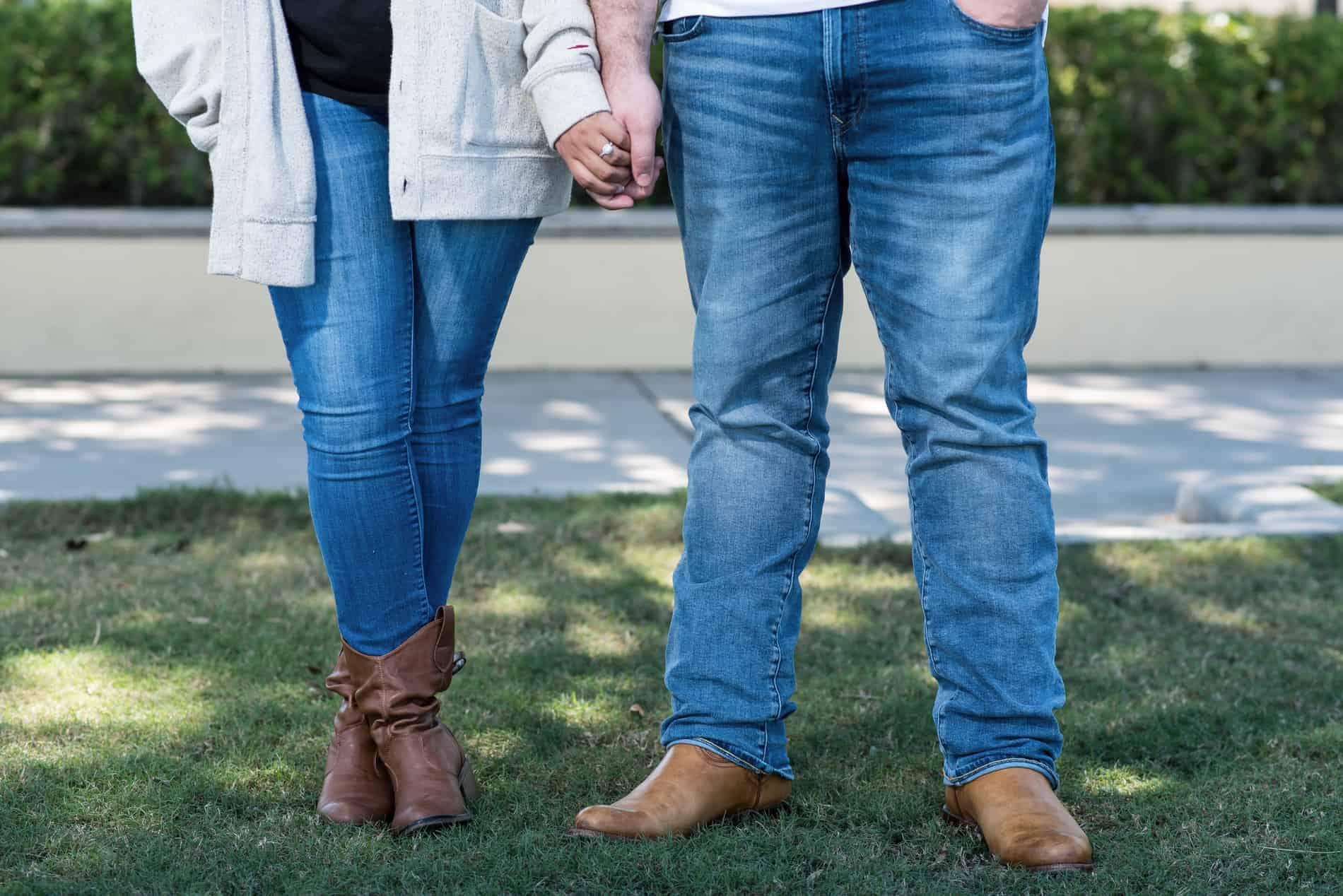 Engagement Photos in Baldwin Park