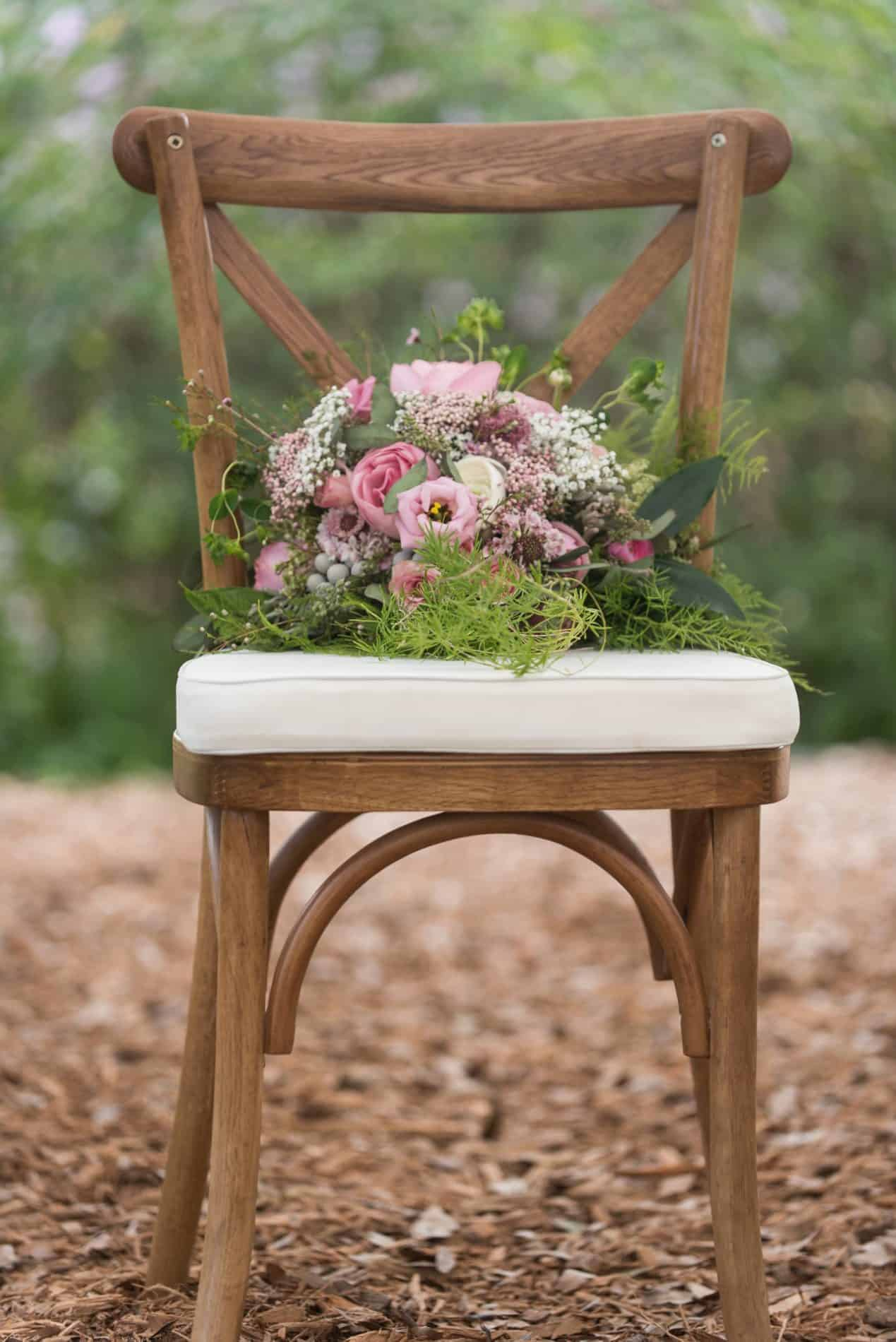 Outdoor Harmony Gardens Inspirational Shoot with Lavender Bouquet