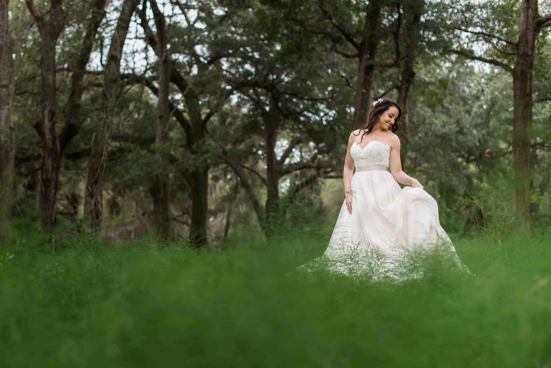 Photos of a Bride and Groom at Harmony Gardens