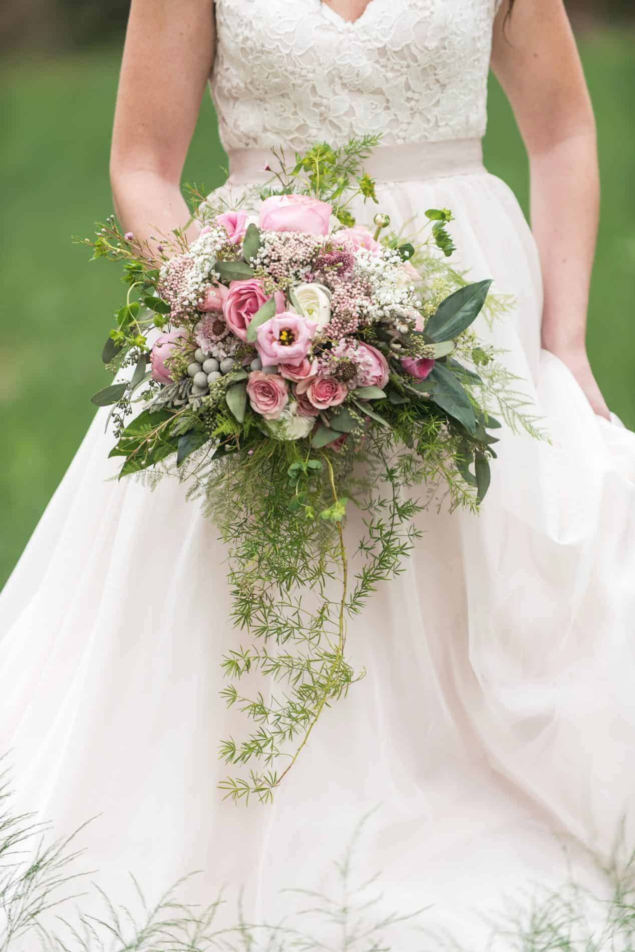 This Bridal Bouquet from The Flower Studio is Gorgeous