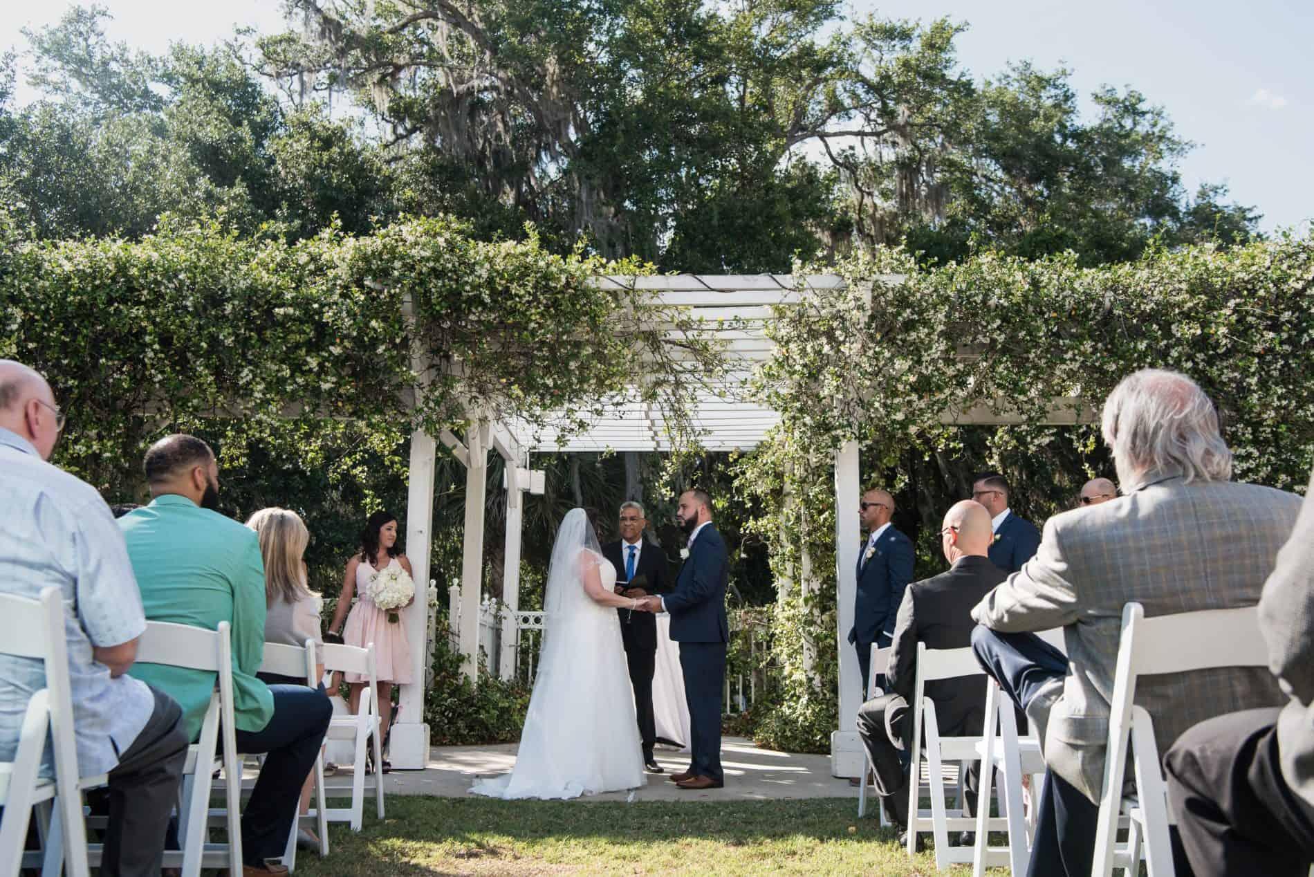 A romantic Lake Mary Italian Wedding Ceremony