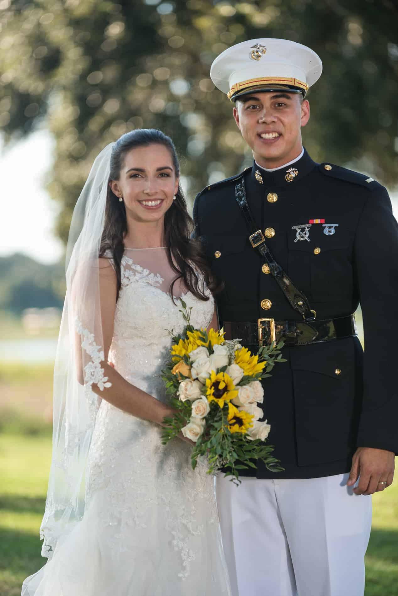 Overtime for Wedding Vendors at a Wonderful Orlando Military Wedding