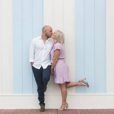 Fanciful Boardwalk Engagement Photos