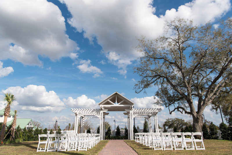 Ocoee Lakeshore weddings outdoor site